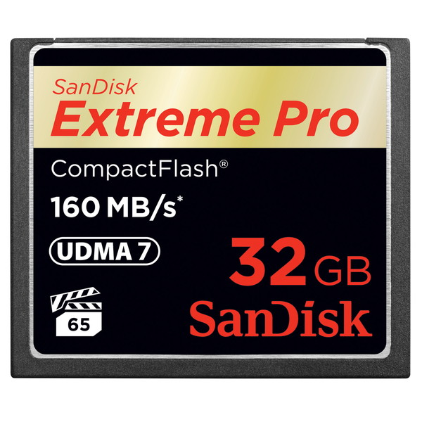 【SDCFXPS-032G-X46】CFカード 32GB EXTREME PRO 1067倍速