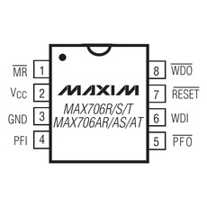【MAX706TCSA-T】+3V電圧監視用マイクロプロセッサ監視回路