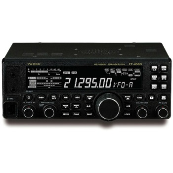 【FT-450D】HF/50MHz オールモードトランシーバー(HF・50MHz/100W)
