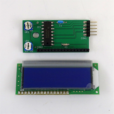【LCD3WIRE_BOARD_BL】LCD3WIRE_BOARD(完成品・液晶ブルー)