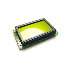 【LCD102B6B】Graphic LCD 128*64 (KS0108 ctrl) - D.Blue and Yellow Green