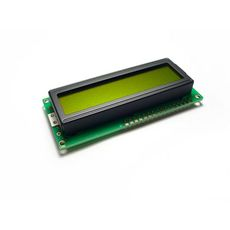 【LCD103B6B】LCD 16*2 Characters - Green Yellow back light