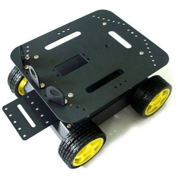【110990070】4WD Arduino compatible robot platform (global free shipping)