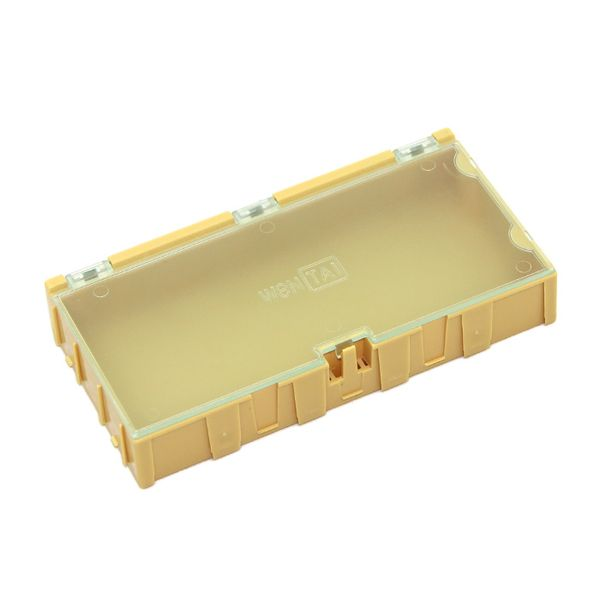 【110990083】Extra Large Size Components Storage Box - 2 PCs per lot - Yellow