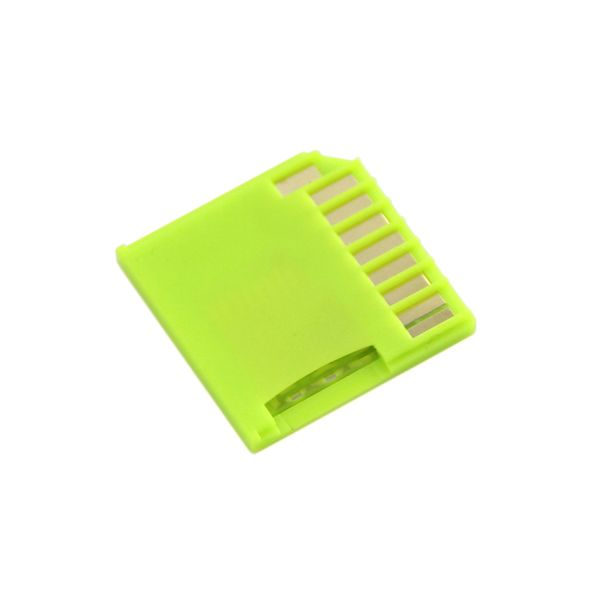【328030003】Micro SD Card Adapter for Raspberry & Macbooks - Green
