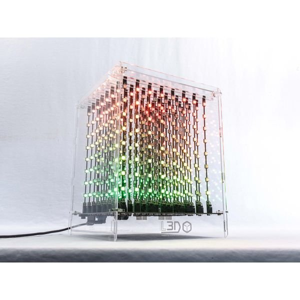 L3D Cube (8x8x8 Full Color Kit)【110990460】
